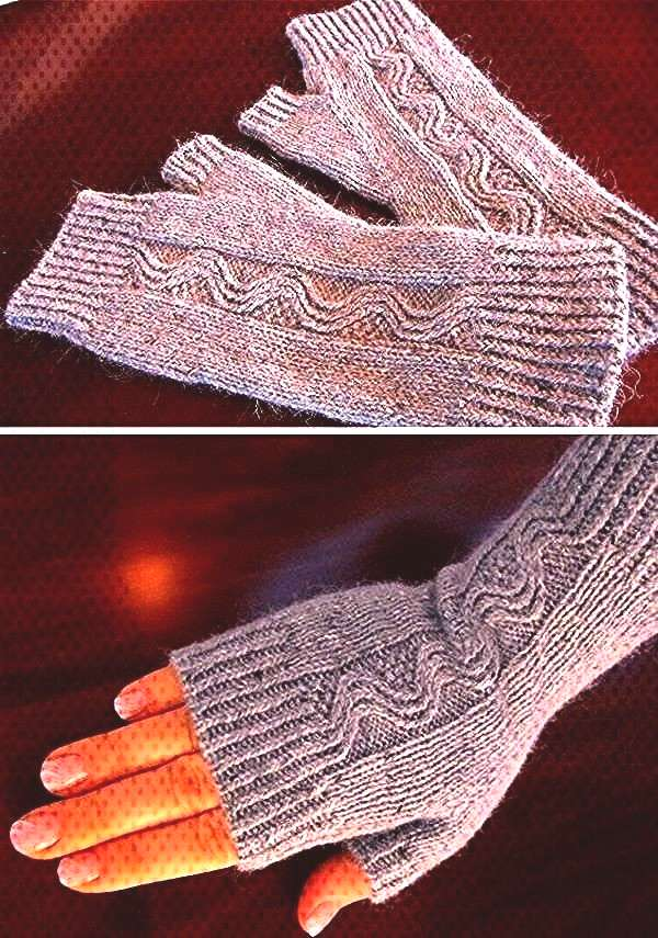 Mitts ...Nalu Mitts ... Video How to Add a Dot Border to a Baby Blanket Free Knitting Pattern fo