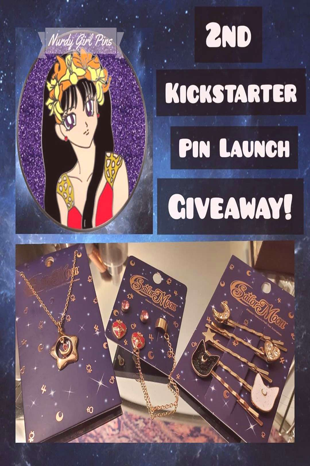 Moon Jewelry Giveaway .1 winner will get to choose 1 out of the 3