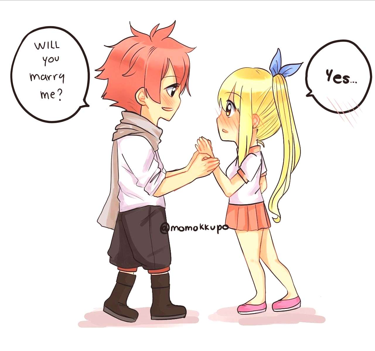 Nalu fluff week Confession -Momokkupo Nalu fluff week Confession - Calm Before The Storm user