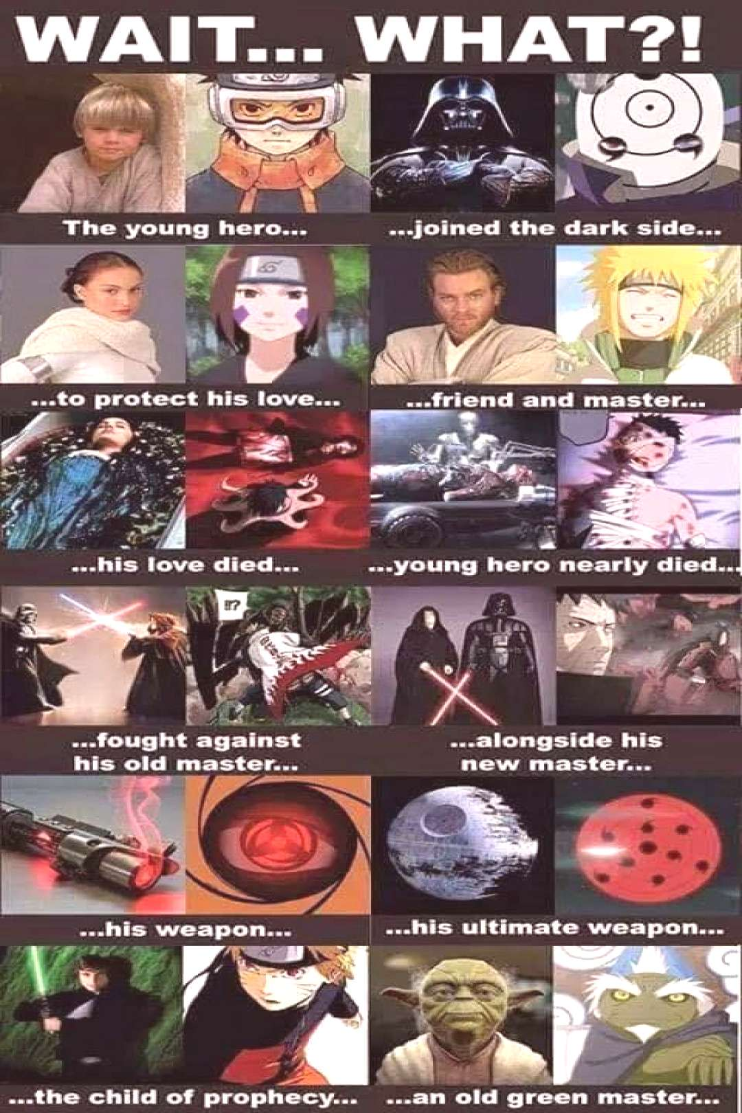 NARUTO SHIPPUDEN with STAR WARS - -