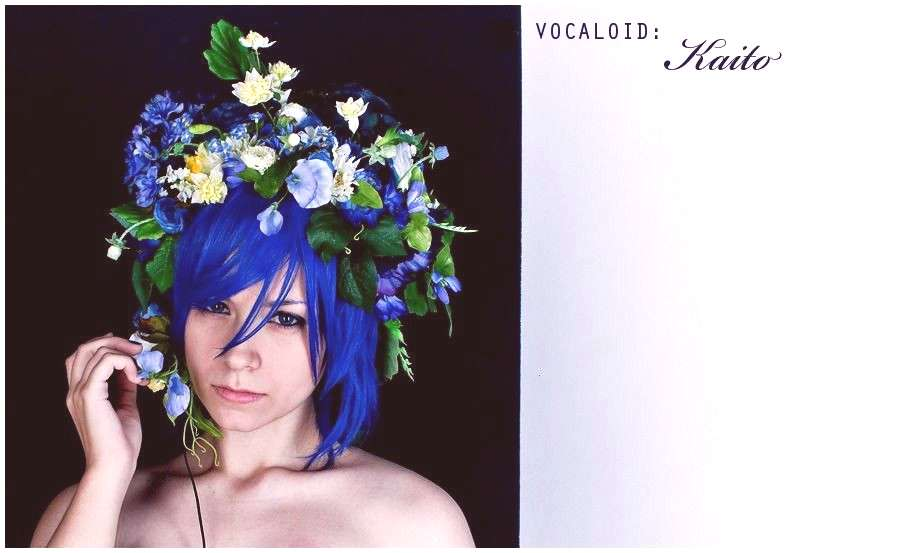 nearly original cosplay of Shion Kaito(Vocaloid). Photosession was inspired by fanart by unknown ..