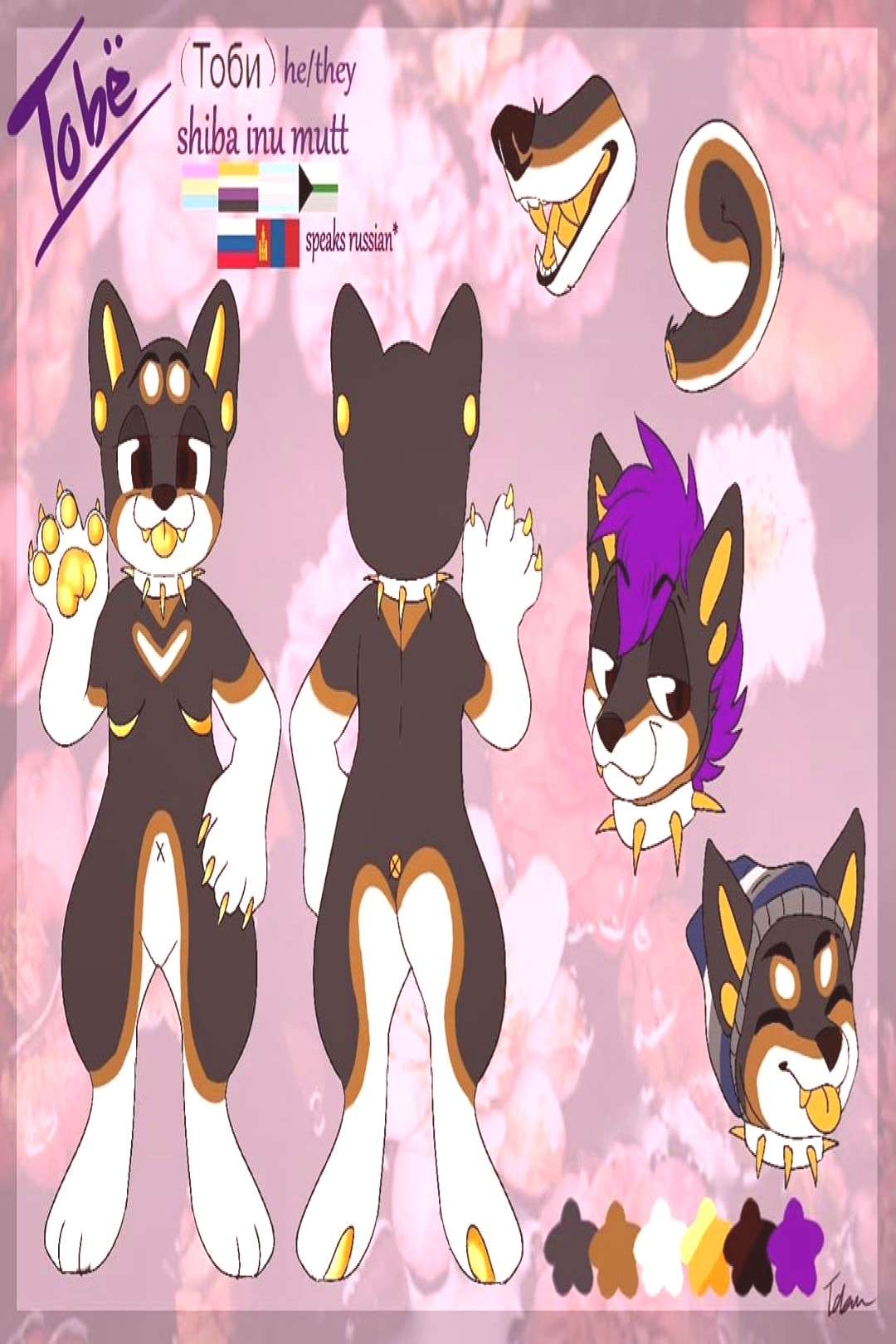 really overdue but, new tobe ref!! finally finished this up to tr