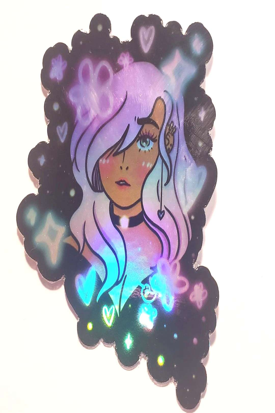 Sale! This will be $3+ $1 shipping! :) Made my first holographic