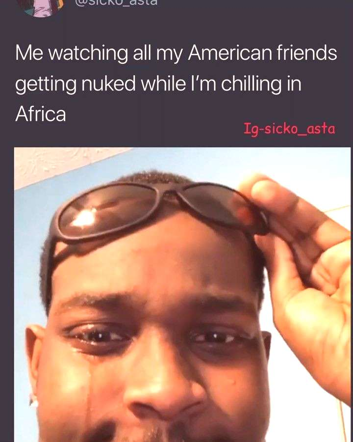 Shit I think Africa is to close I just might to move mars . . . . . . . . . . . . . . . . . . .