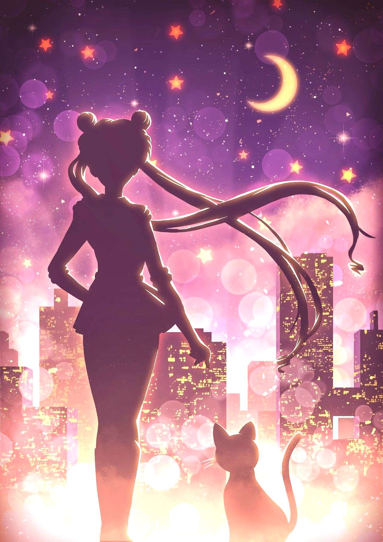 Still walking on nostalgia lane, this time with Sailor Moon, my favourite series when I was a child