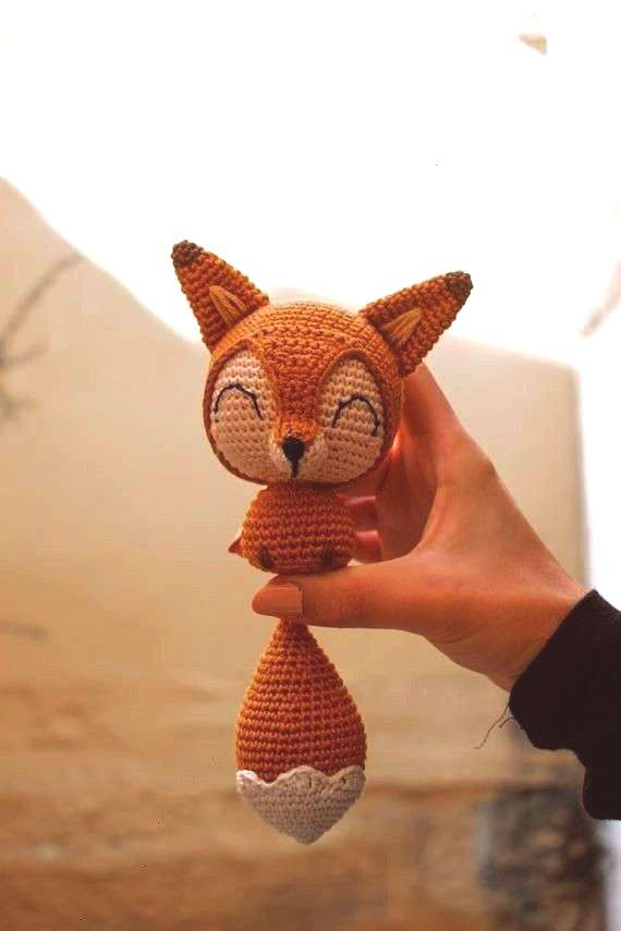 the Chibi Fox - Hkelanleitung Amigurumi-Anleitung Cotton Tail the Chibi Fox Hkelanleitung Amigurumi