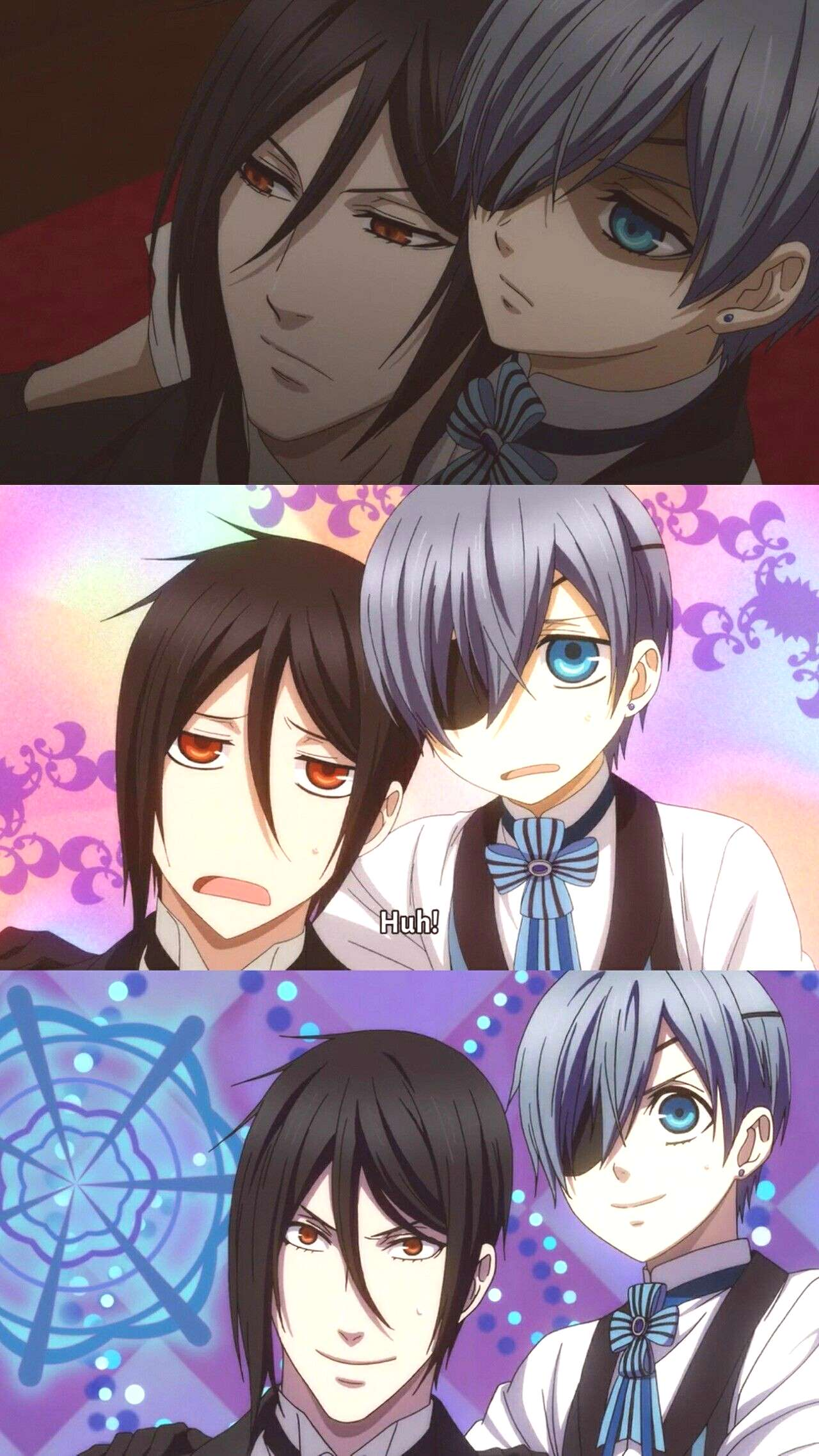 They are getting more and more synch...Awkward XD : They are getting more and more synch…Awkward