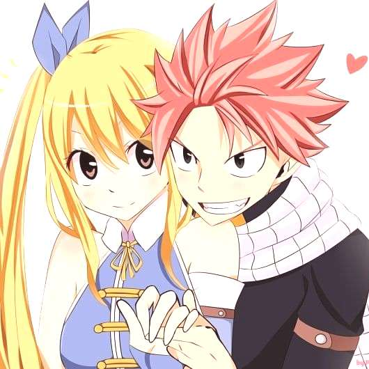 this is my first post and i prefer to start with nalu arent they cute?