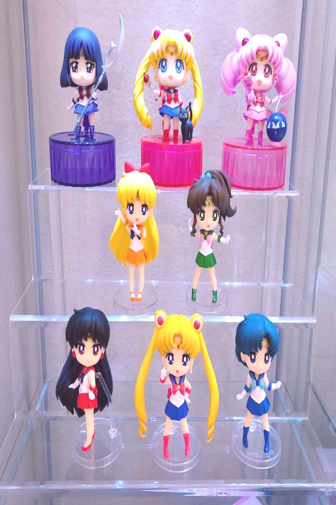 This is where I've put the SH Figuarts Minis. They're joined by t