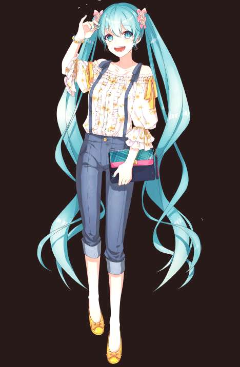 Todays Miku Module of the Day is: Miku Culture Fashion Ver. by gari !  -