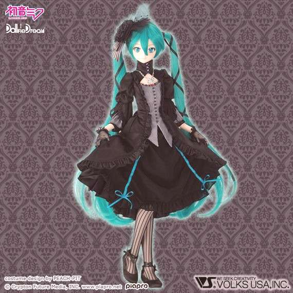 Todays Miku Module of the Day is: Vampire Dress by PEACH-PIT ! -