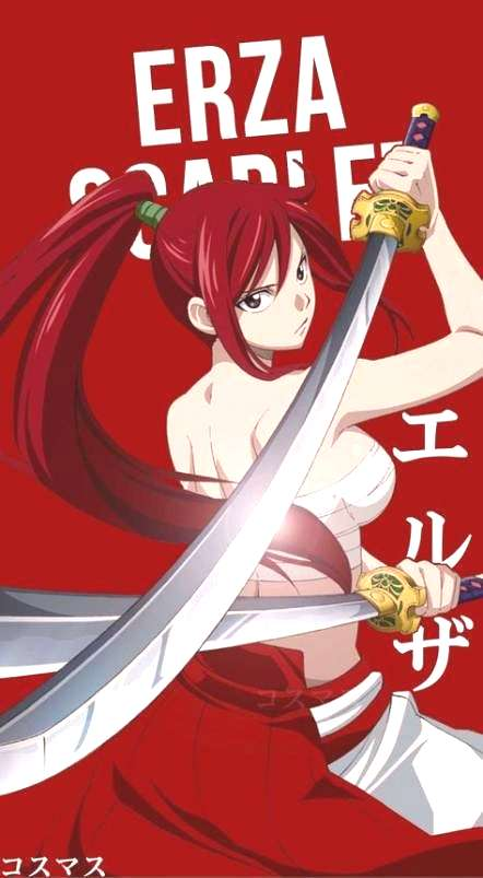 Trendy wall paper anime fairy tail erza scarlet 39+ Ideas