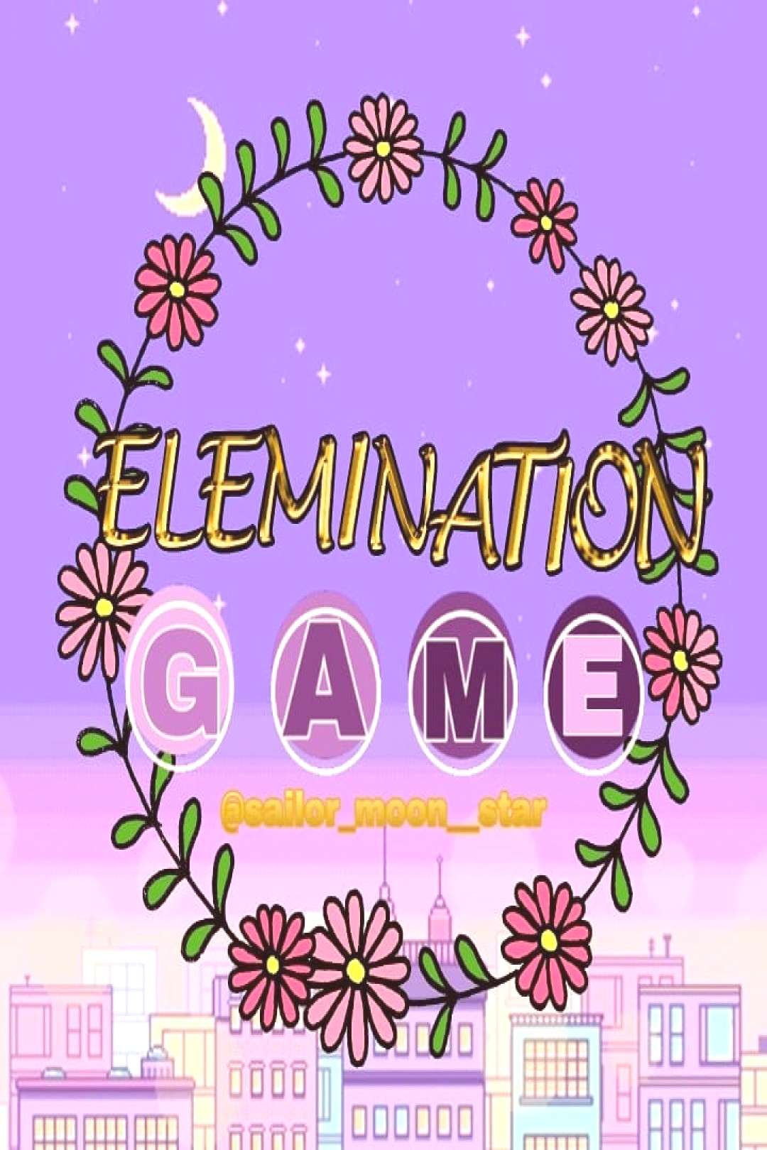 Welcome to my elimination game! Rules: 1.) Like my comment of the