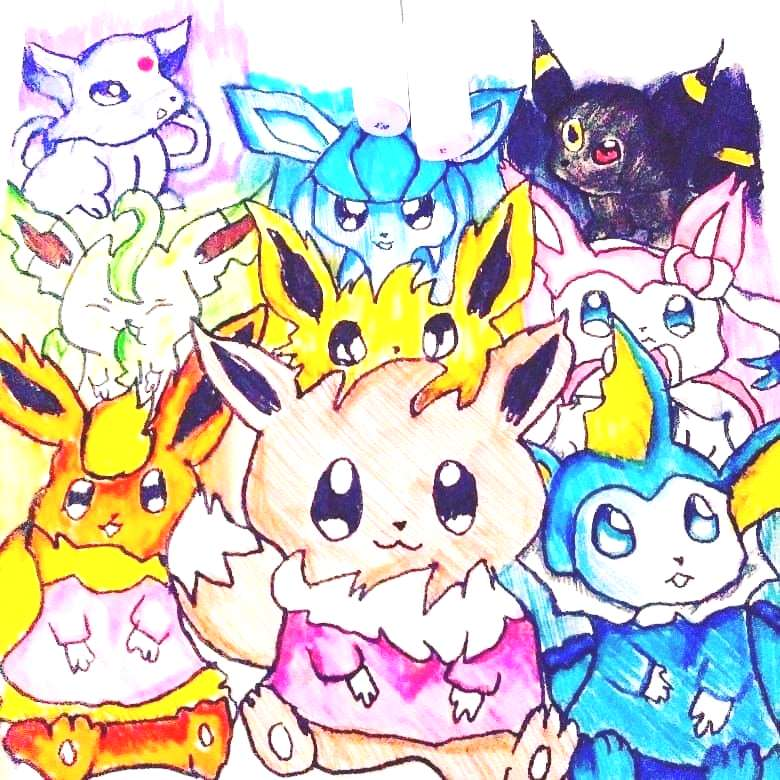 What such little cuties doing here Whats your favorite eevee?